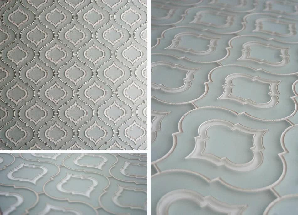 Superbe Moroccan Style Glass Tile From Edgewater