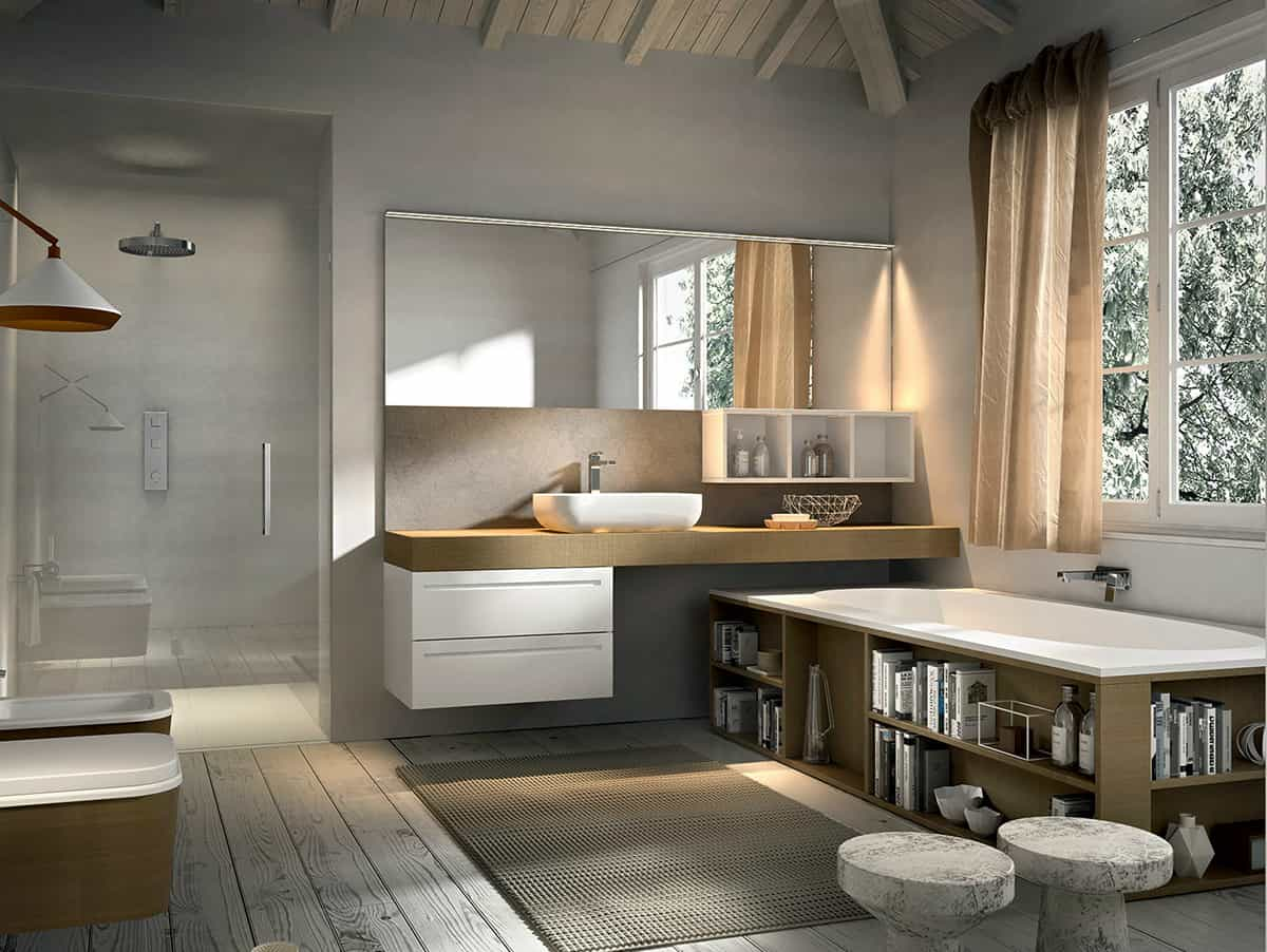 Bathroom vanity inspirations by edone design - View In Gallery Bathroom Vanity Inspirations By Edone Functional Aesthetically Pleasing