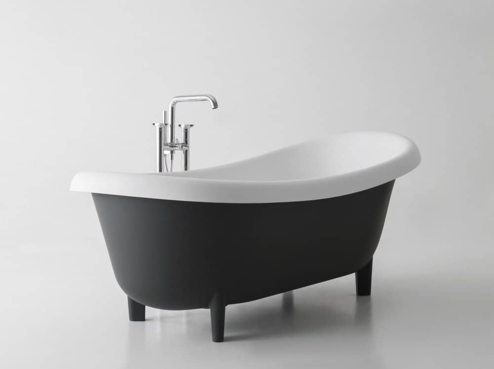 Retro Modern Free Standing Tub By Antonio Lupi