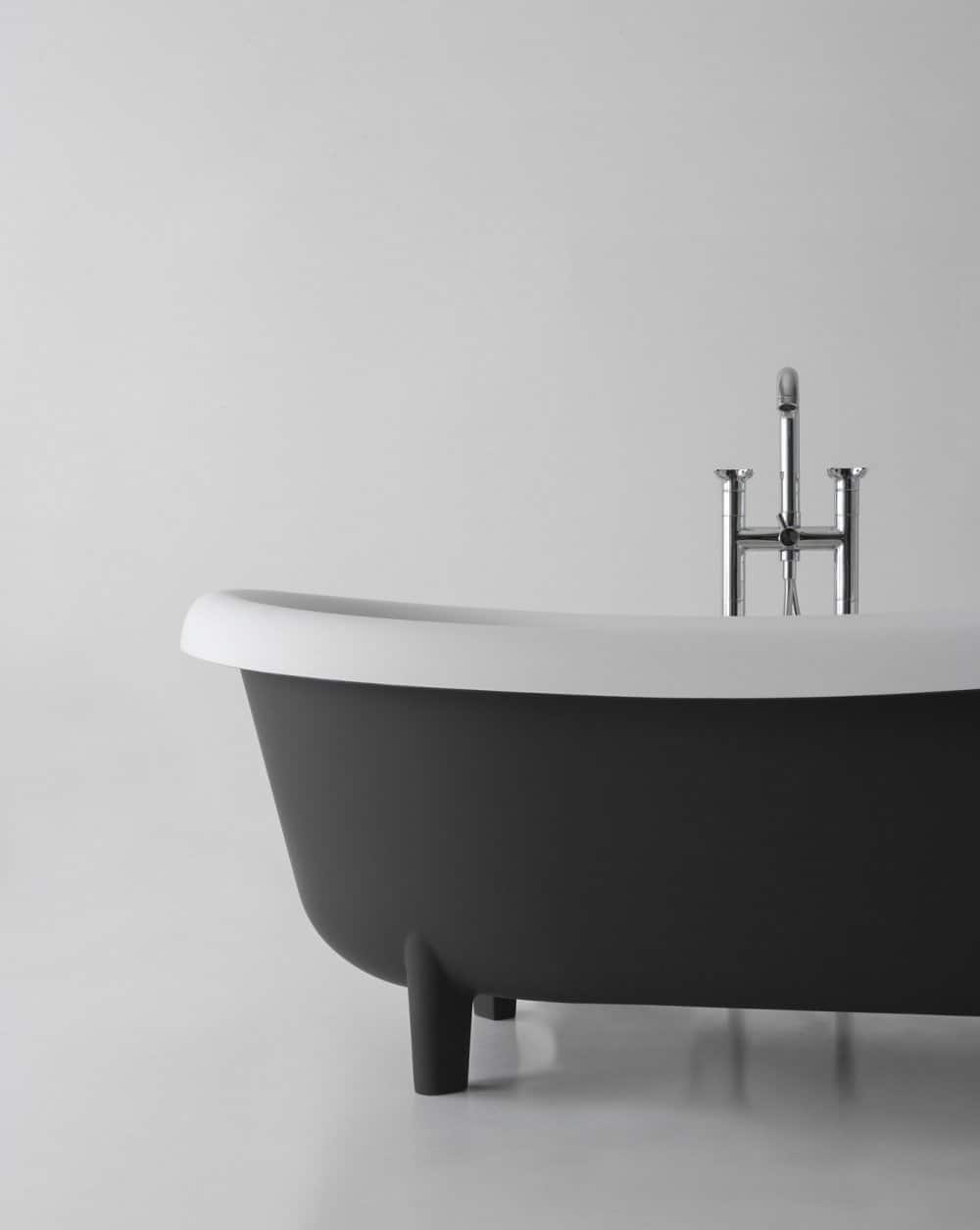 Retro Modern Free Standing Tub By Antonio Lupi