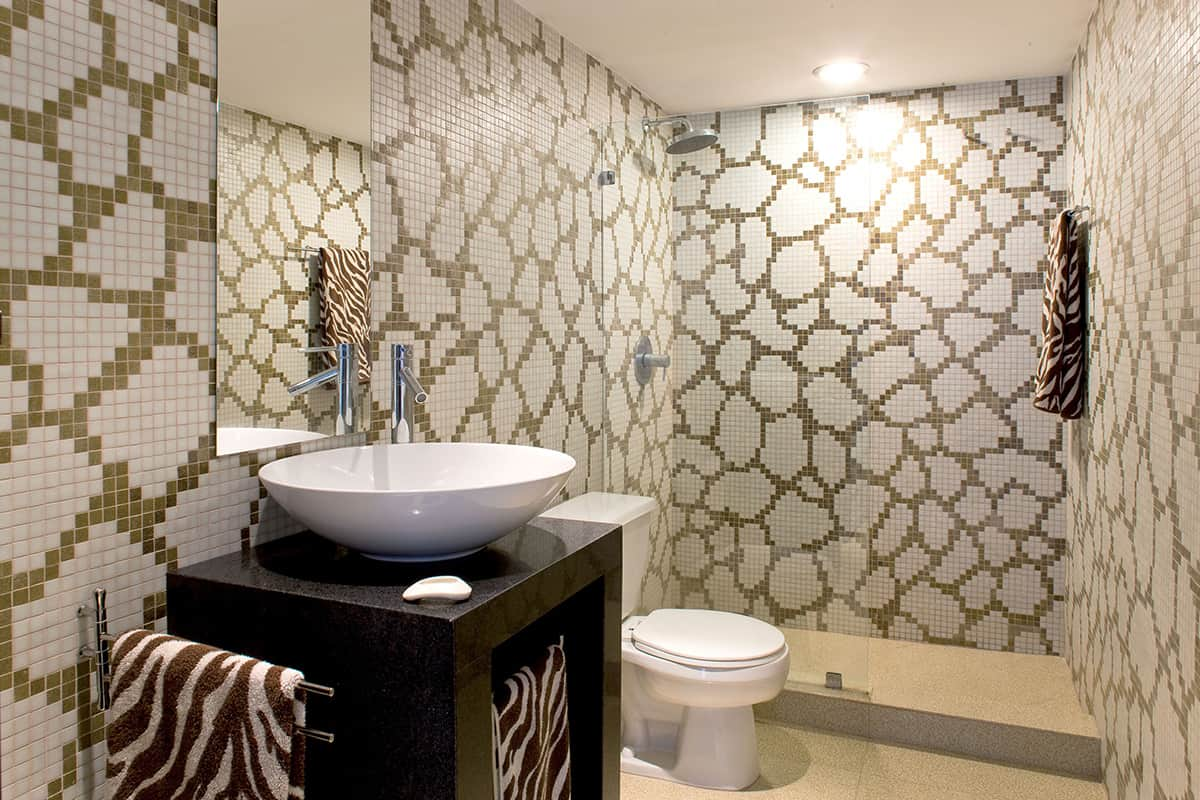 View in gallery Pictorial Glass Tile
