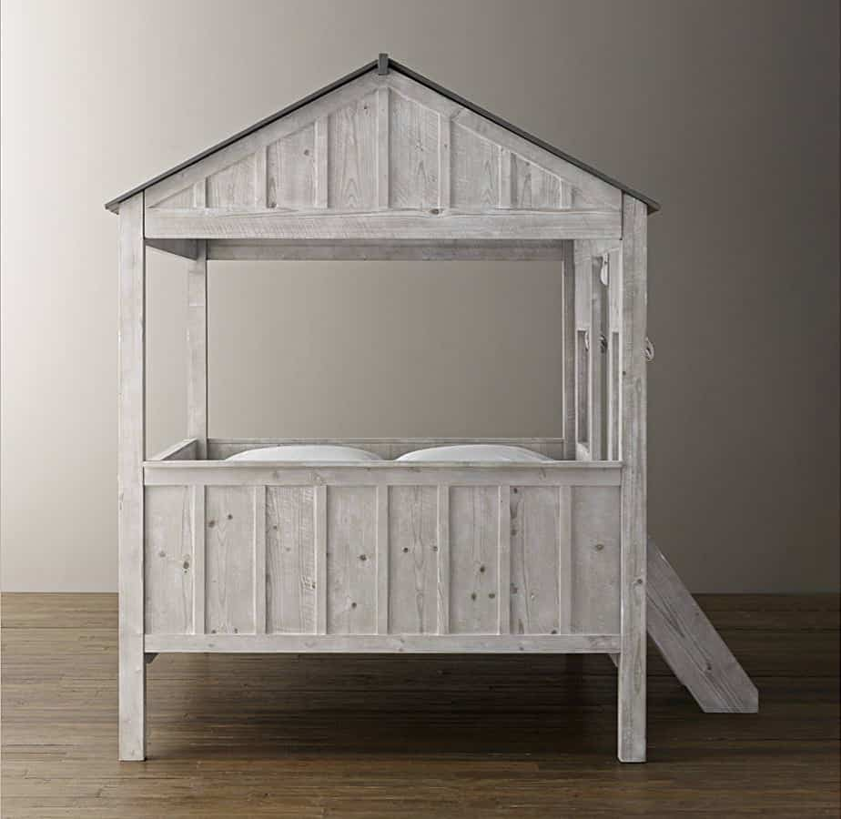 View In Gallery Cabin Bed Is Kid Size Indoor Dwelling By Restoration Hardware 2 Thumb 630xauto 51024 Kids