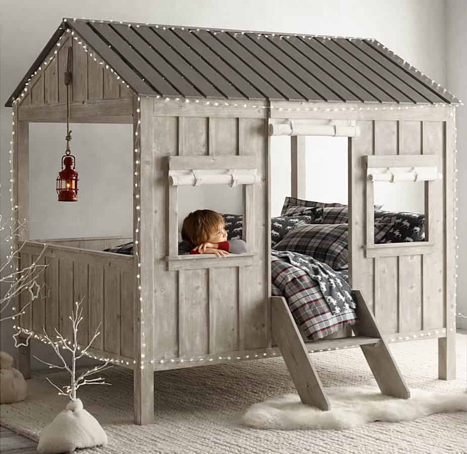 View In Gallery Cabin Bed Is Kid Size Indoor Dwelling By