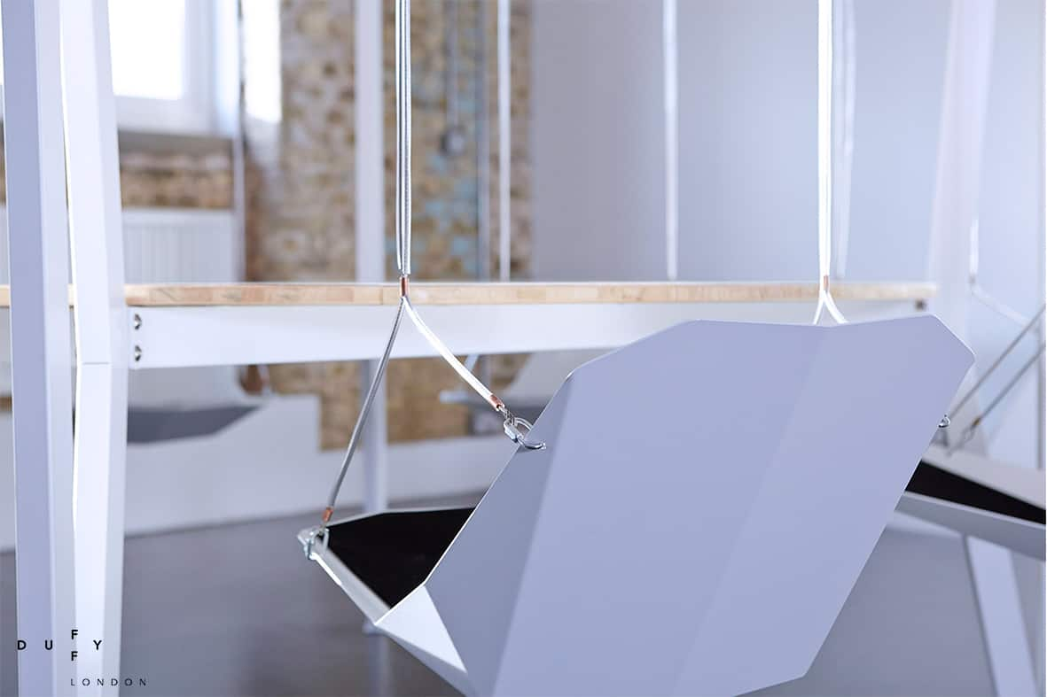 View In Gallery Round Swing Table Dubbed King Arthur By Duffy