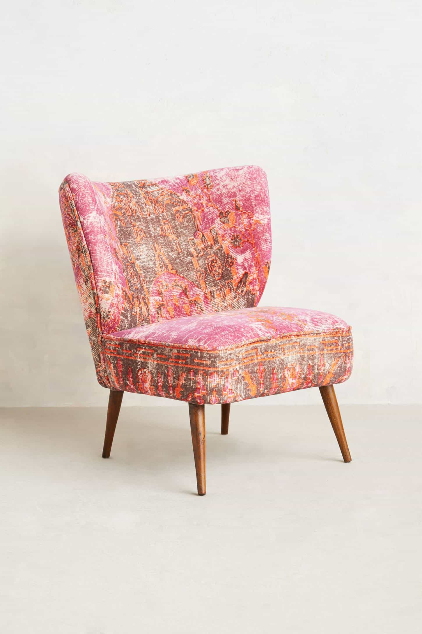 These Washed Velvet Beauties Are Moresque Chairs By Anthropologie