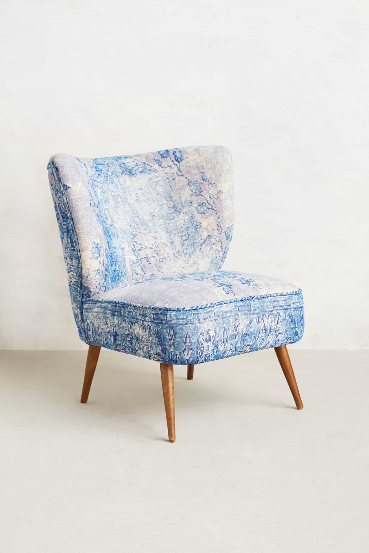 These Washed Velvet Beauties Are Moresque Chairs By