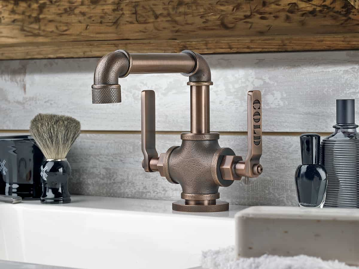Industrial bathroom fixtures - Industrial Style Faucets By Watermark To Give Your Plumbing The Cool Look You Always Wanted