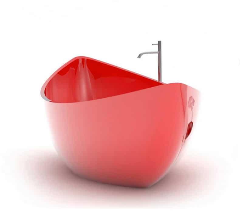 Super Boat Shaped Bathtub by ZAD Italy - Funamori SL29