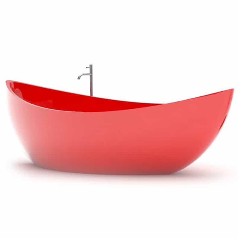 boat shaped bathtubzad italy - funamori