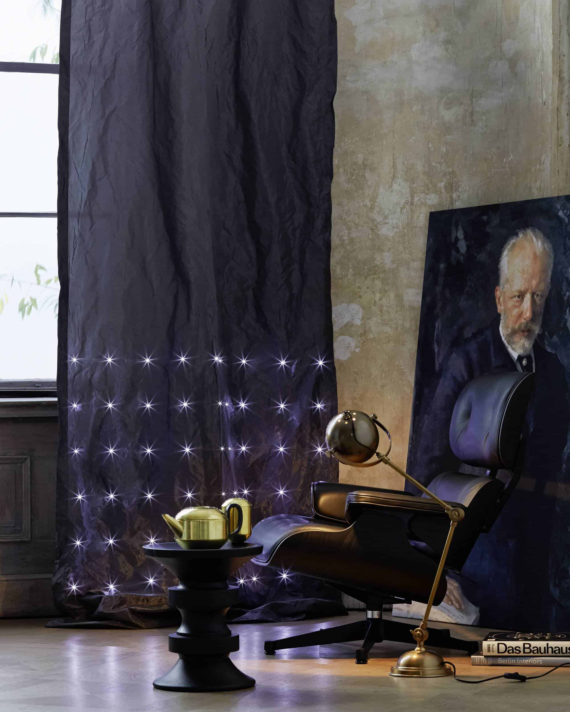 Curtains With LED Lights Take Window Coverings To New Level