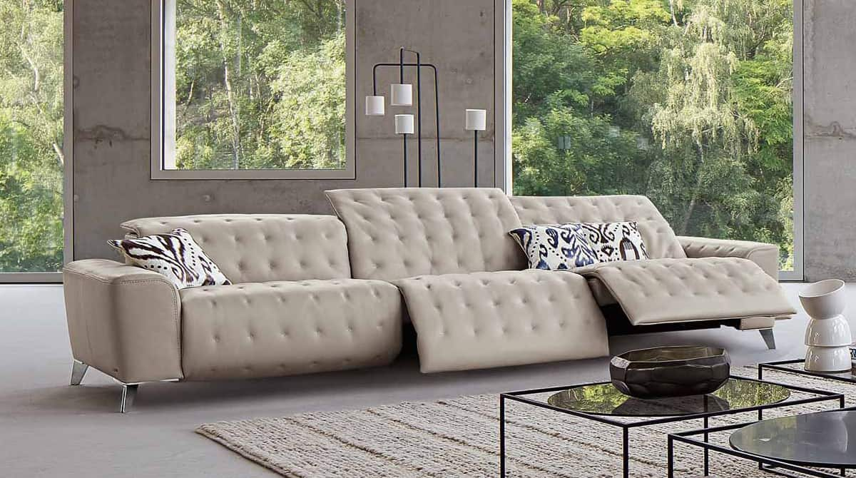 transformable sofa satellite by roche bobois transforms into 3 lounge chairs. Black Bedroom Furniture Sets. Home Design Ideas