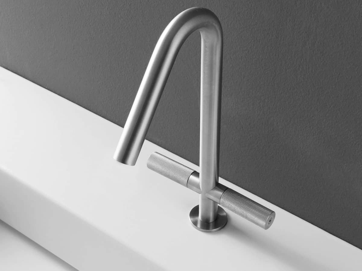 View In Gallery Treemme Rubinetterie 22mm Bathroom Faucet 1 Thumb 630xauto  52838 Trendy Bathroom Faucet Is Pureness Of Design