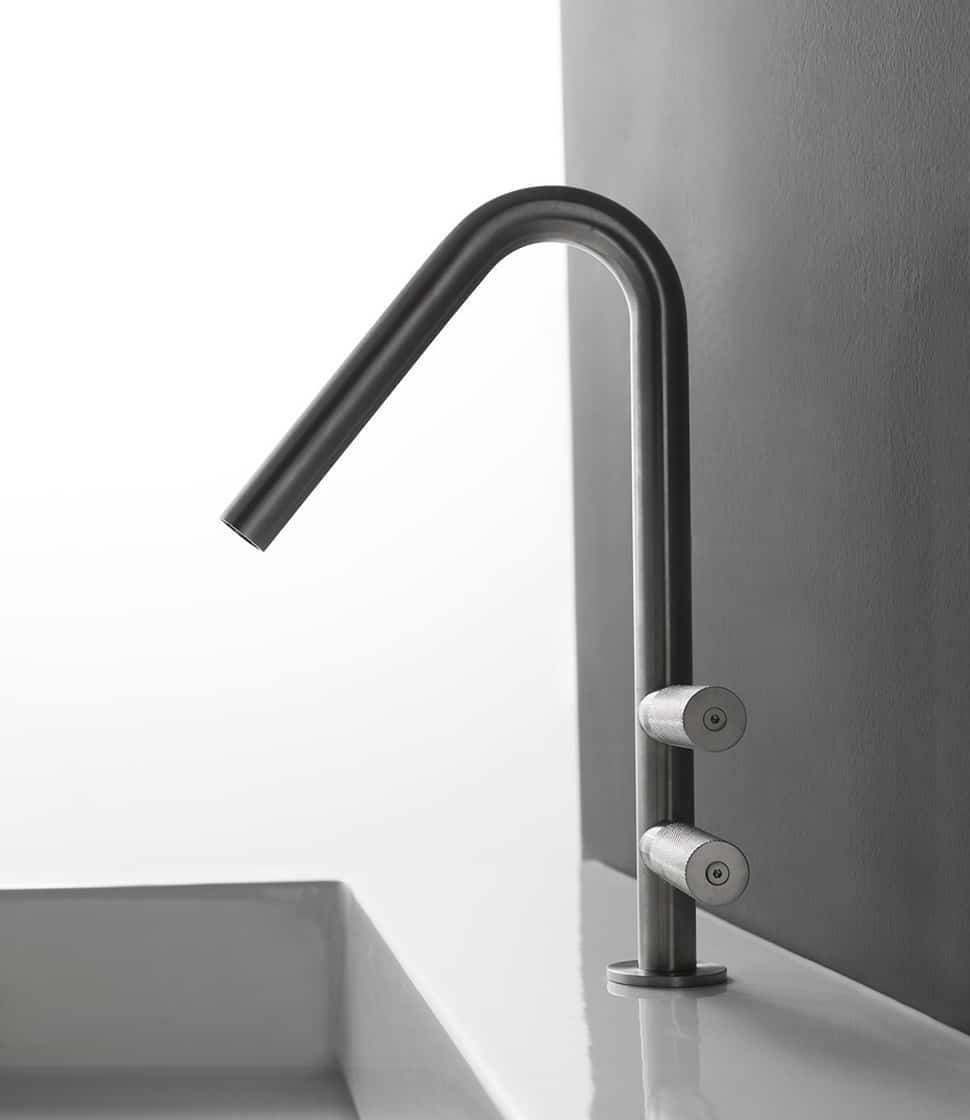 modern bathroom faucets. View in gallery treemme rubinetterie 22mm bathroom faucet 3 jpg Trendy Bathroom Faucet is Pureness of Design  Grace Form
