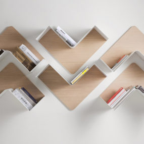 Adaptable Shelving – Fishbone by B-Line