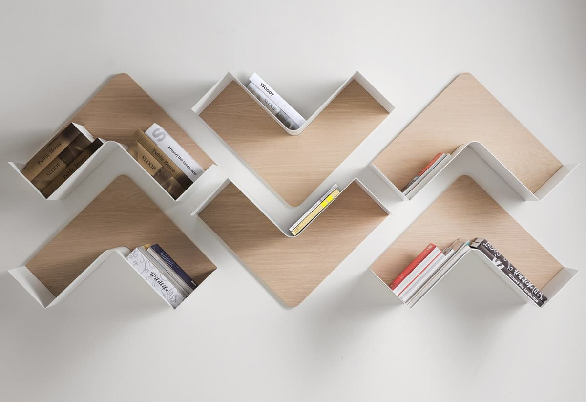 Adaptable Shelving - Fishbone by B-Line