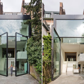 These Gigantic Pivoting Glass Doors are the World's Largest