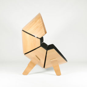 Molded Plywood Chair for Kids is Private Hideaway