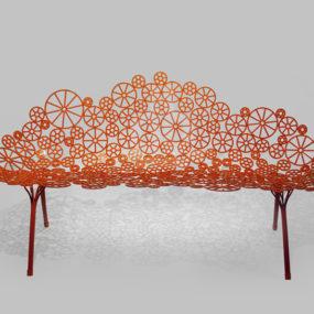 Laser Cut Metal Furniture Estrella by Fernando and Humberto Campana for A Lot Of Brasil