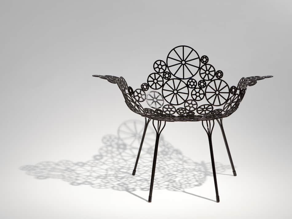Laser Cut Metal Furniture Estrella By Fernando And Humberto Campana