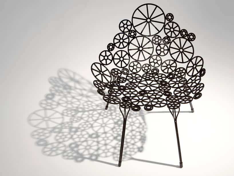 Laser Cut Metal Furniture Estrella By Fernando And