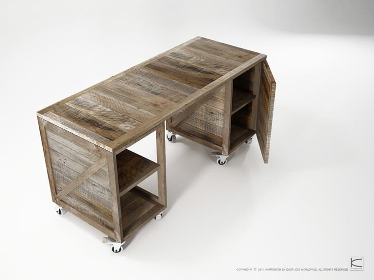 Merveilleux View In Gallery Shipping Crates Furniture Krate By Karpenter 3