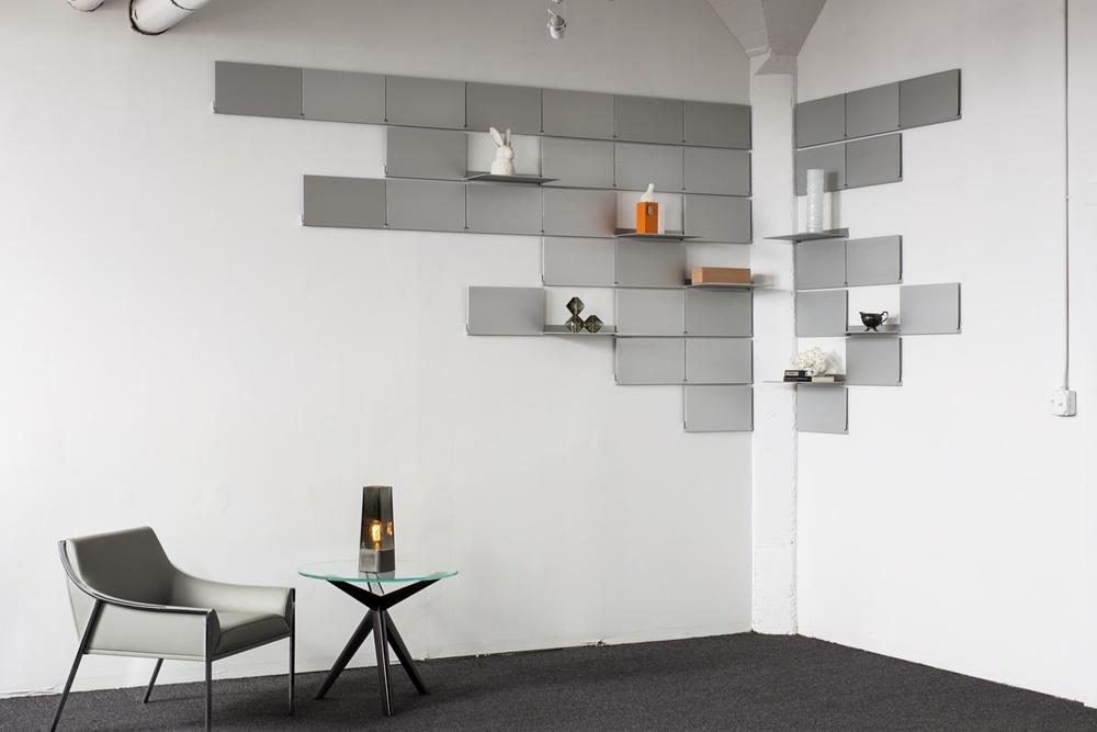 Magic By Ozzio Design.Folding Shelves By Lake And Wells