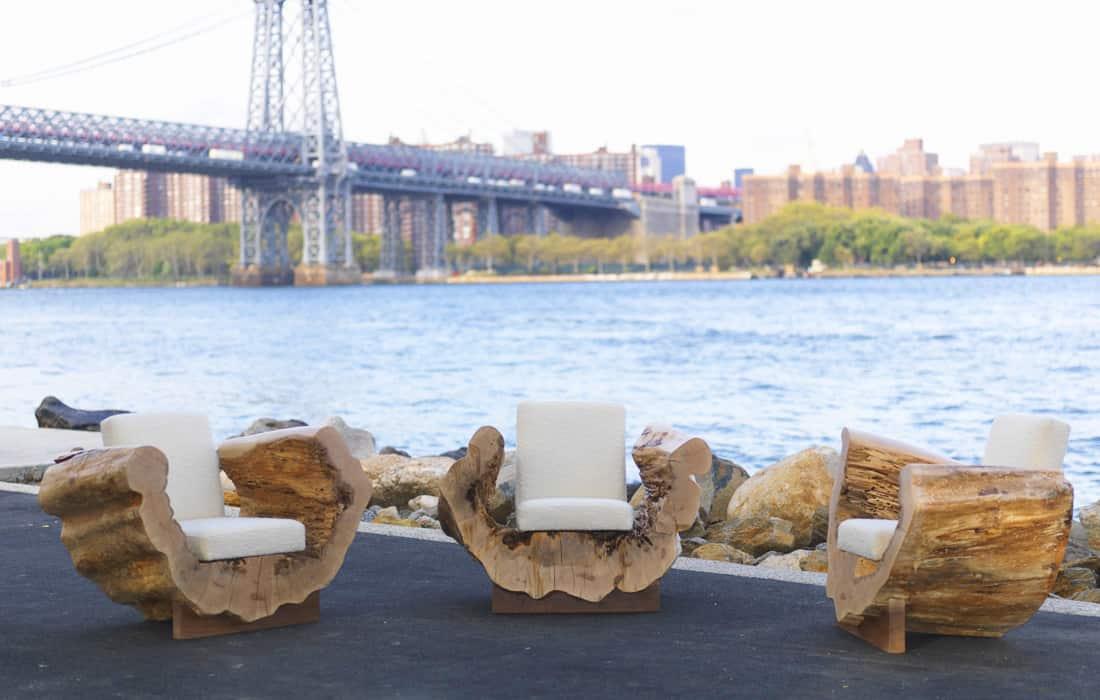 Wonderful Wooden Furniture by Andre Joyau