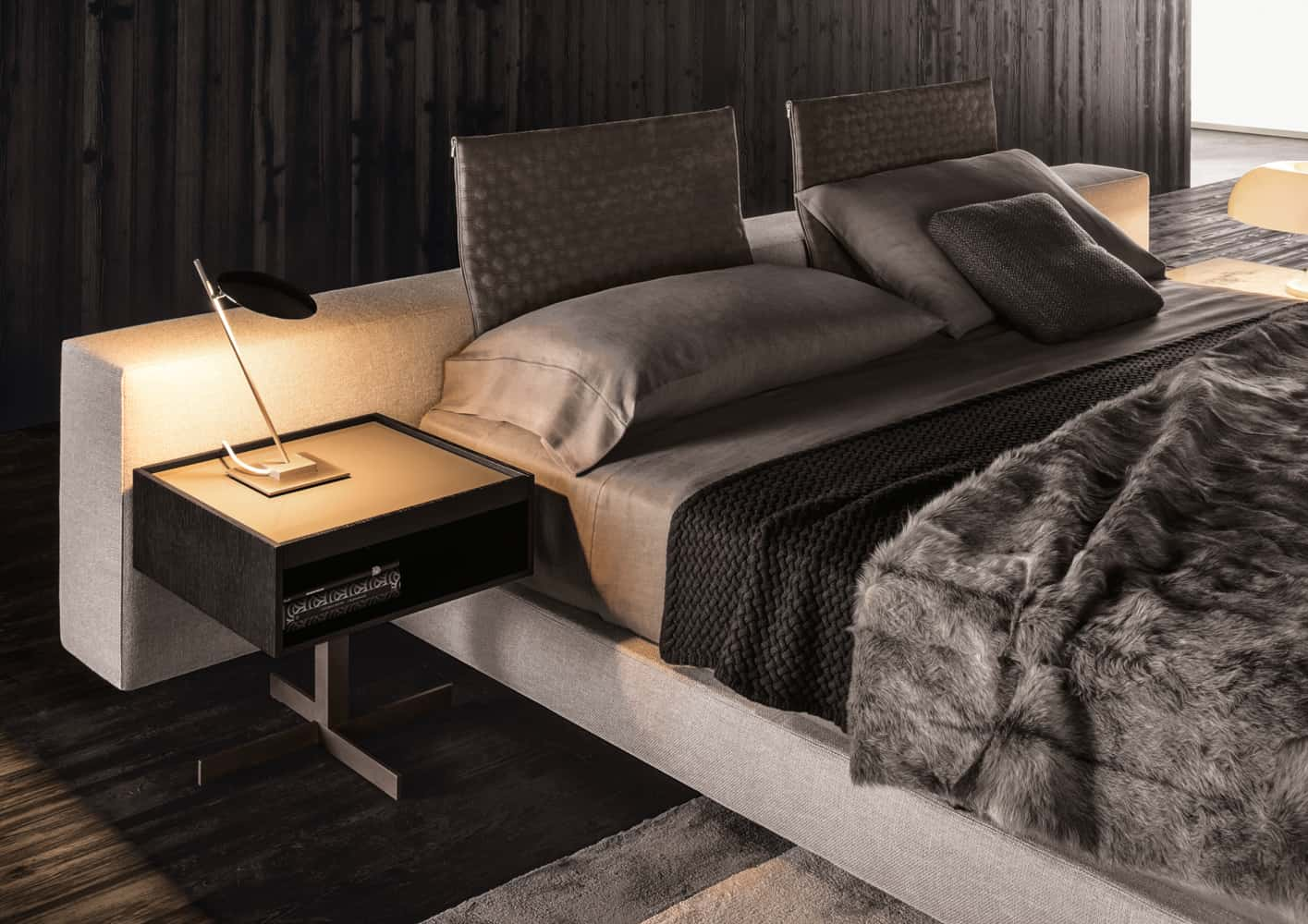 Oriental Style Soft Sofa Jalis by COR