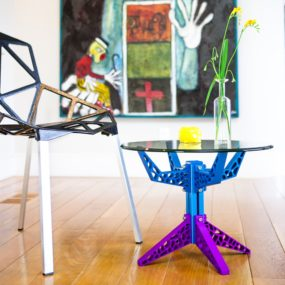 Funky Industrial Coffee Table by Craft Modern