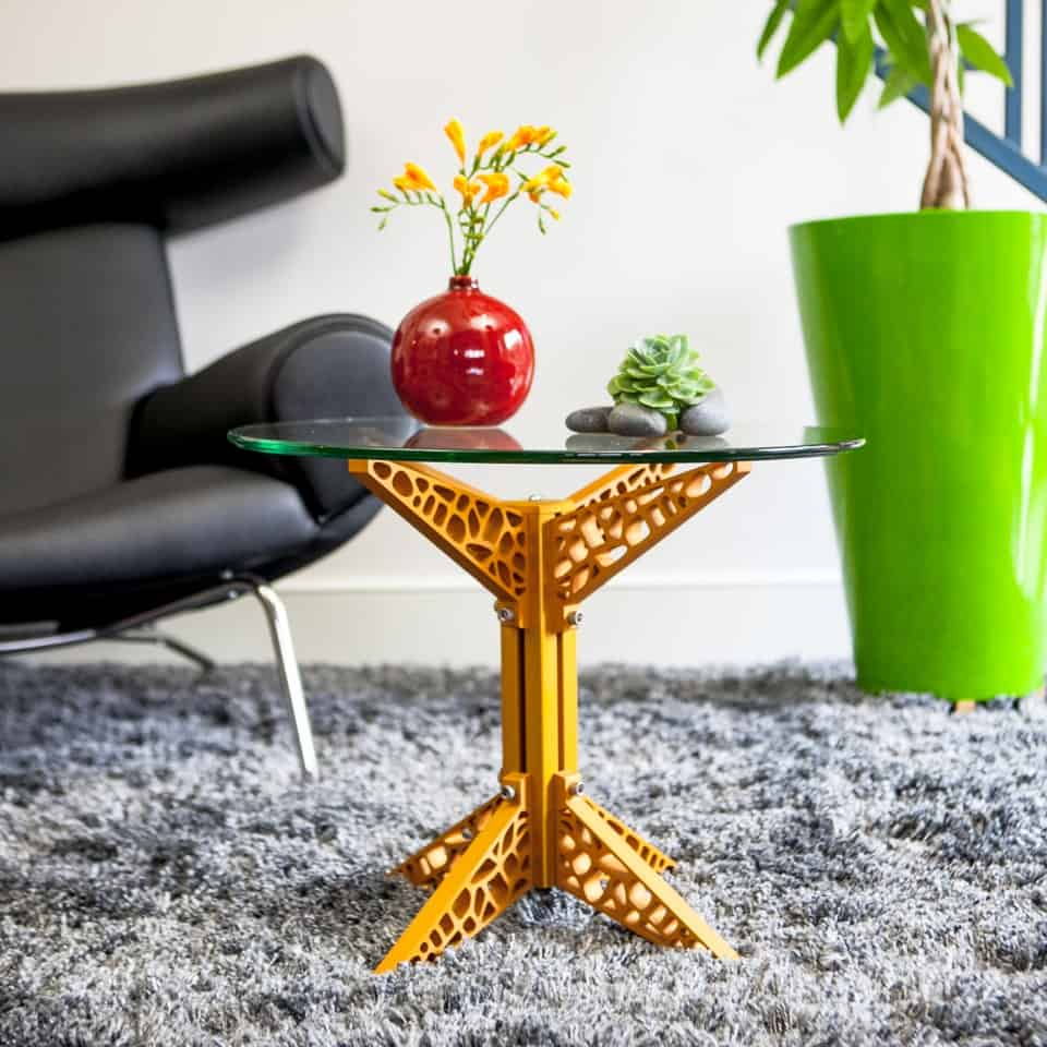 Funky industrial coffee table by craft modern Funky coffee table