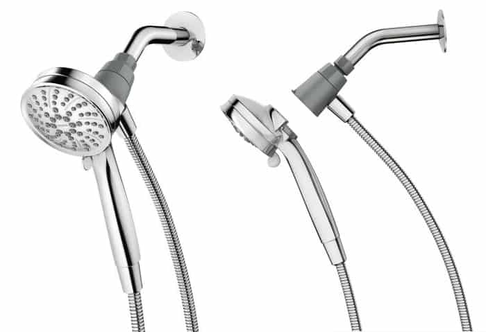 View In Gallery Magnetic Showerhead With Magnetix 2 Thumb 630xauto 54367  Magnetic Showerhead From Moen: Attract With Magnetix