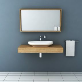 Timber Vanities with Basins by Omvivo: a Perfect Fit for Minimalist Contemporary Bathrooms