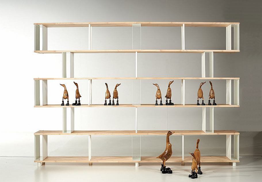 living systems space modular bookcases shelving well thought universal gallery system in view out