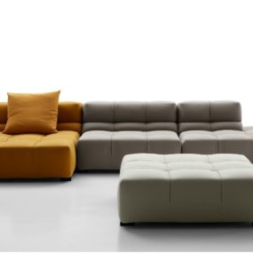 This Trendy Cubic Sofa is a New Addition to Tufty Time Collection from B & B Italy