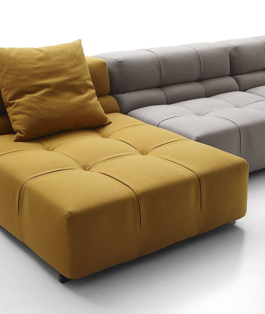 View In Gallery This Trendy Cubic Sofa Is A New Addition