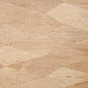Diamond Shaped Parquet by Menotti Specchia