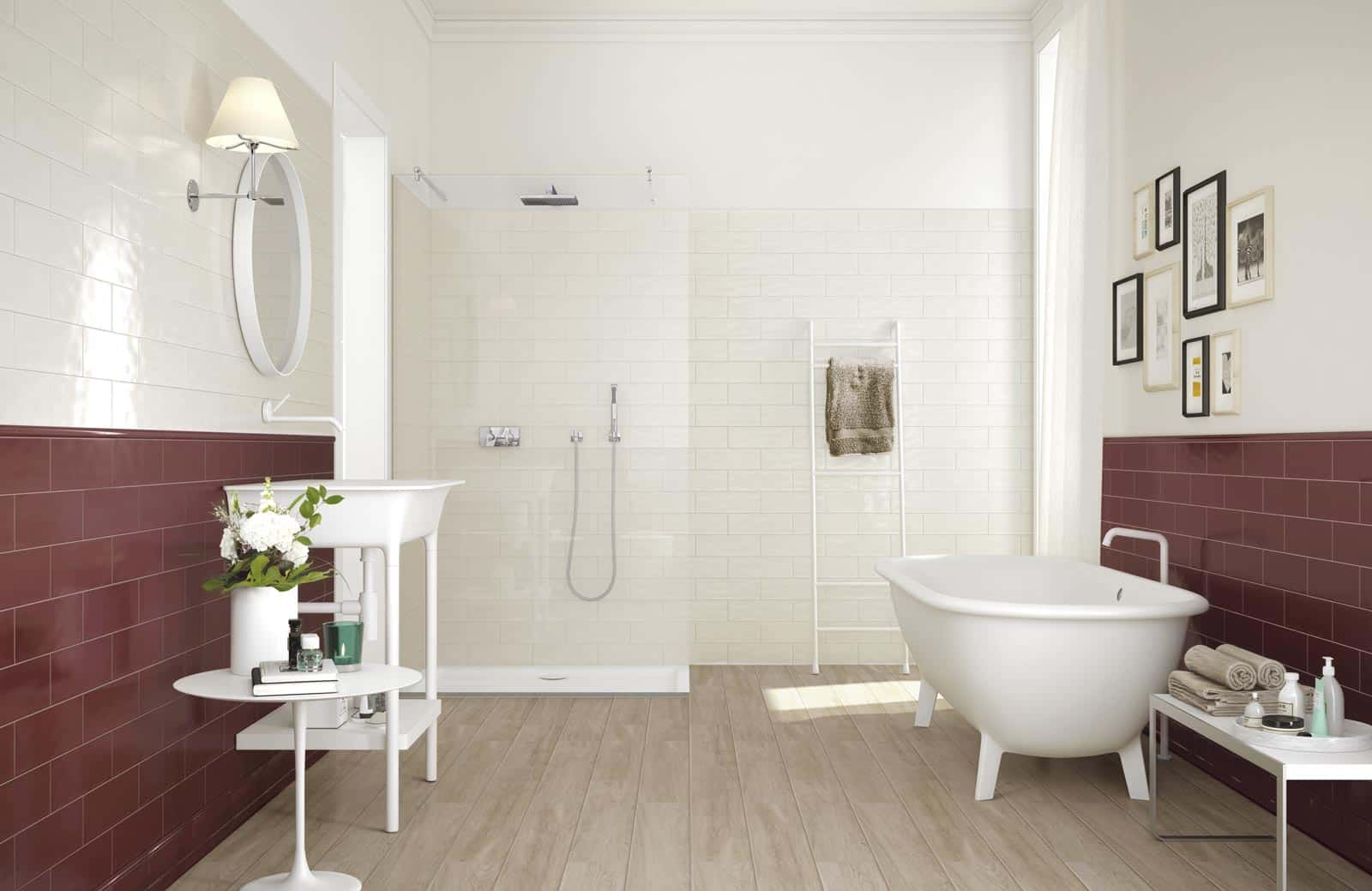 Tiling Walls in Brick Tile Pattern is Easy with the New Glossy Brick ...