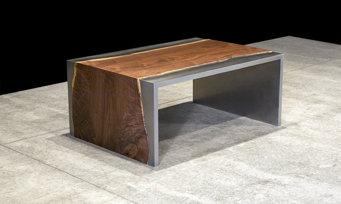 View In Gallery Steel And Wood Coffee Table By Johnhoushmand 2 Thumb  630xauto 55502 Steel And Wood Coffee Table