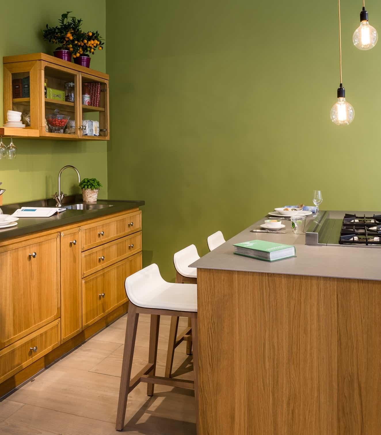 Mini Island Idea For Small Urban Kitchens By La Cornue