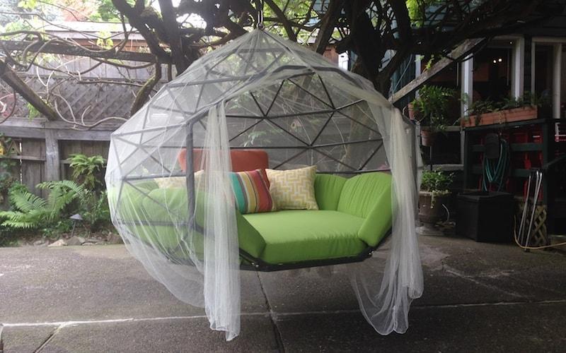 Hanging Outdoor Lounge Kodama Zome