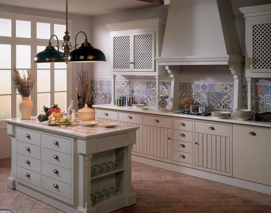 Tile Top Kitchen Sets
