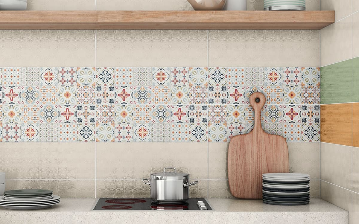 Top 15 patchwork tile backsplash designs for kitchen view in gallery kitchen backsplash tile pavigres almirag dailygadgetfo Choice Image