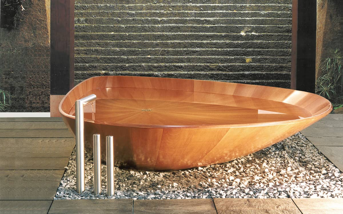 Wooden Bathtubs For Modern Interior Design And Luxury Bathrooms