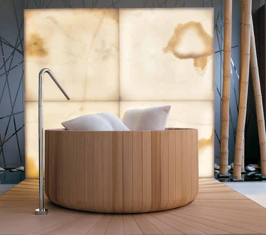 round soaking wood tub puntoacqua