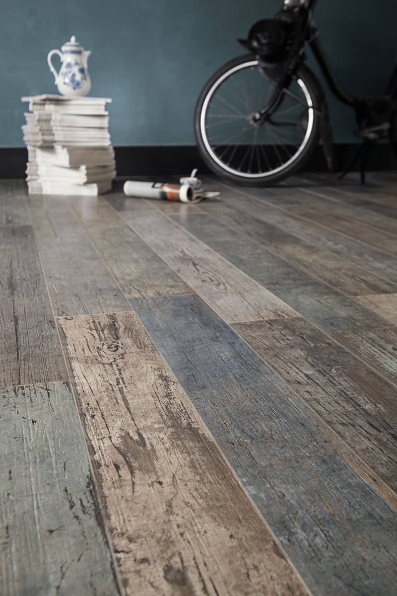 view in gallery floor tile that 20looks like 20reclaimed 20wood santagostino thumb autox945 55958 wood look - Distressed White Wood Flooring