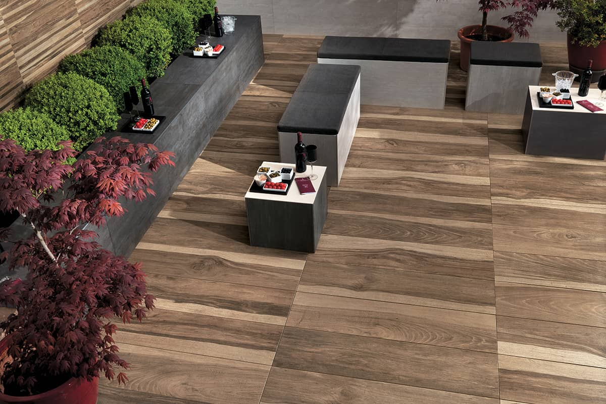Wood look tile 17 distressed rustic modern ideas view in gallery porcelain patio tile that looks like hardwood atlas dailygadgetfo Gallery