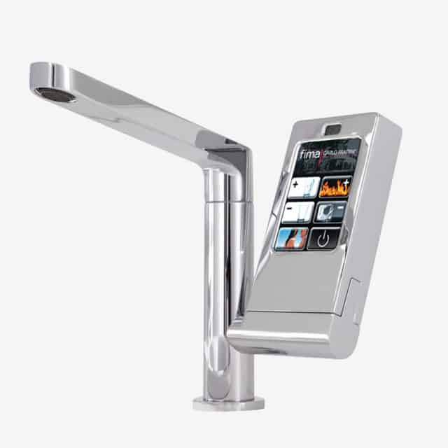 Simple View in gallery electronic lavatory faucet with swivel spout novos go