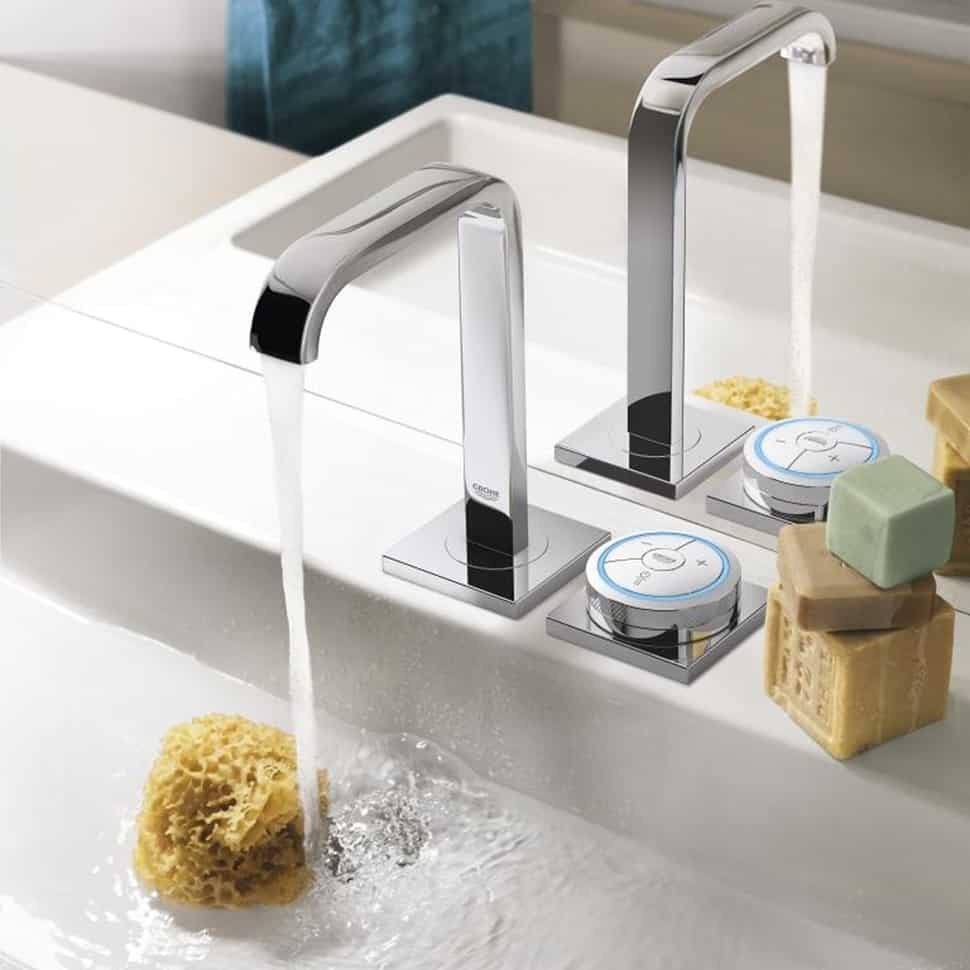 Cute View in gallery grohe allure f digital sink faucet