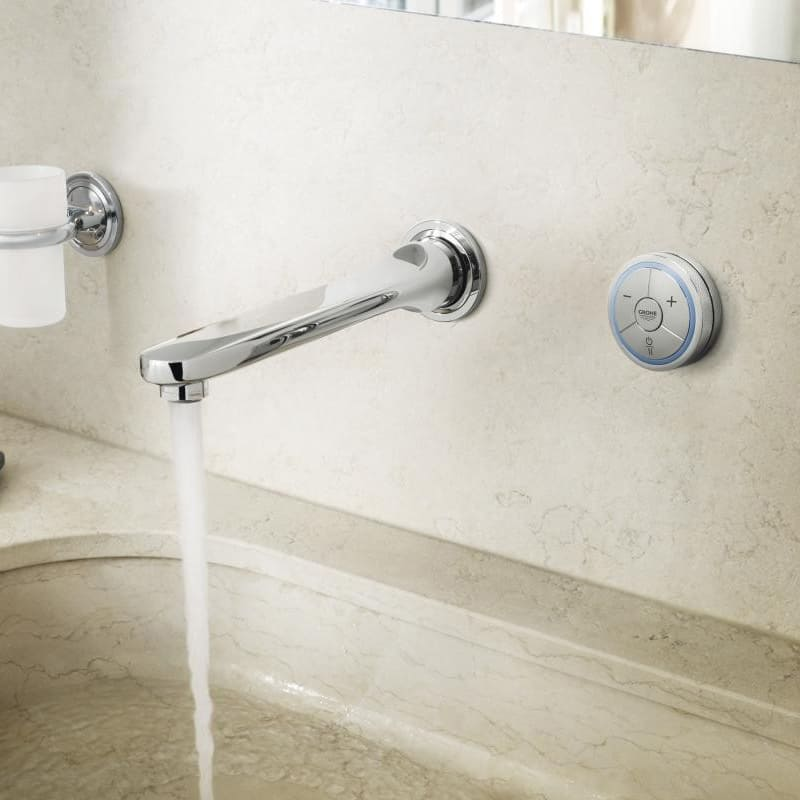Trend View in gallery grohe veris f digital wall mount basin faucet