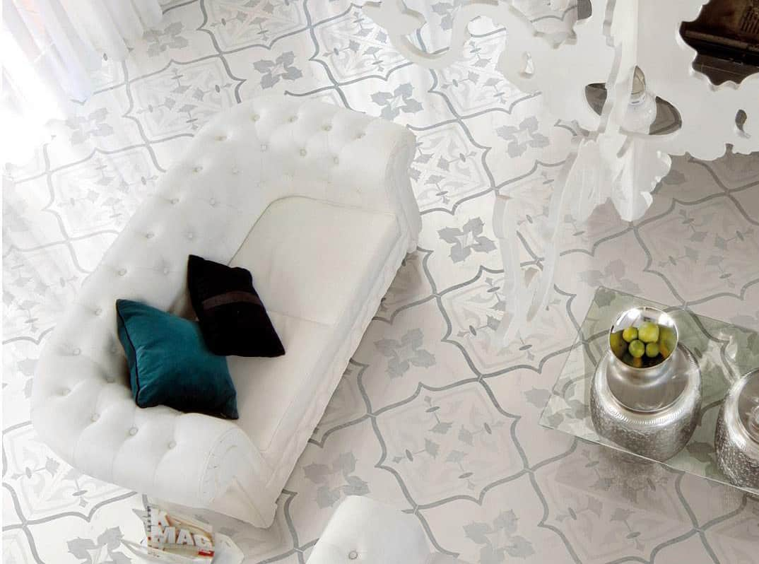 View In Gallery Porcelain Floor Tile Ceramiche Supergres